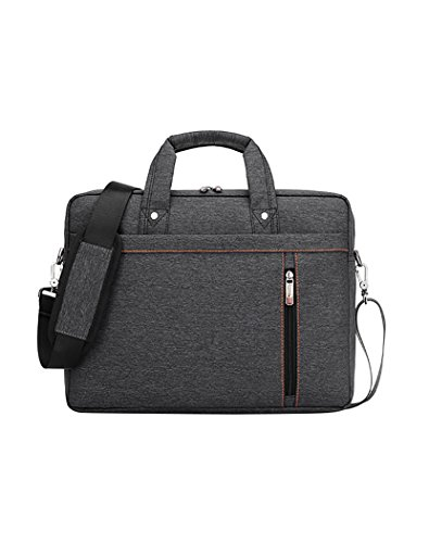 Veenajo 17-Inch Laptop Bag Messenger Bag Hand Bag Multi-compartment Briefcase Oxford Nylon Waterproof Shoulder Bag For Laptop / Ultrabook / HP / Acer / Macbook / Asus / Lenovo / Men/Women
