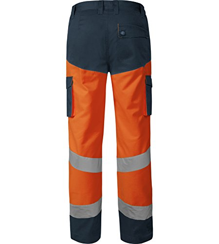 WÜRTH MODYF Pantalon de Travail Haute-visibilité Orange/Marine