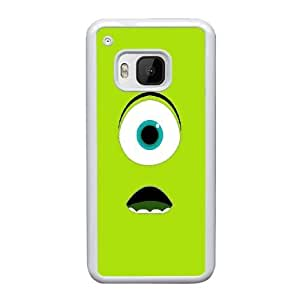 HTC One M9 Cell Phone Case White Monsters University Mike Wazowski AS7YD3566685