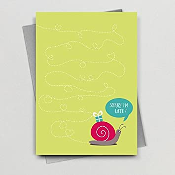 Birthday Card From Michelle Lancaster Wink Design Amazon