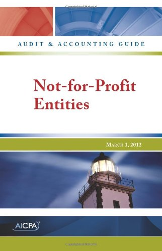 Cpa Corner - Not-for-Profit Entities - AICPA Audit and Accounting Guide