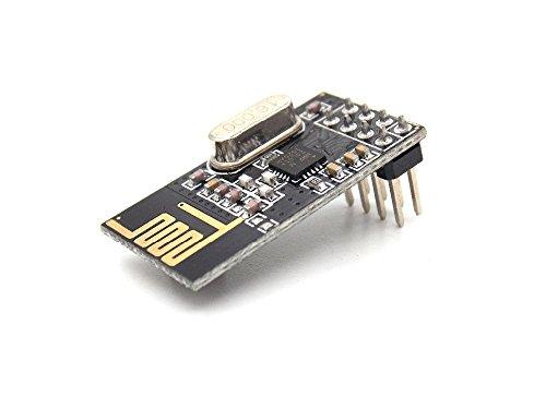 (Diybigworld 10Pcs x NRF24L01+ Wireless Module 2.4G Wireless Communication Module Upgrade Module)