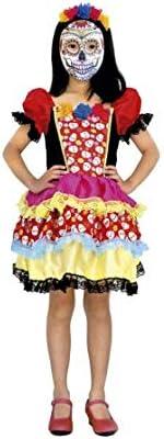 Disfraz de Muerte Esqueleto Mejicana Catrina niña Infantil para ...