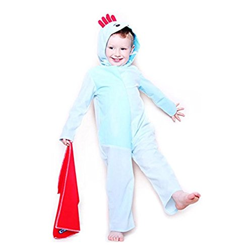Toddlers Boys In The Night Garden Official Iggle Piggle Fancy Dress (Iggle Piggle Fancy Dress Costume)