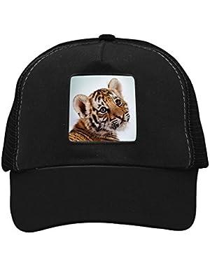 Unisex Cute Tiger Adjustable Classic Hiphop Hat Baseball Cap Snapback Dad Hat