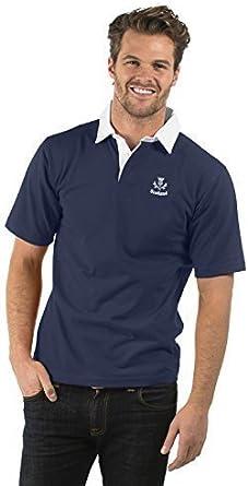 Escocia Thistle Cardo de Manga Corta Camisa de Rugby - Scotland ...