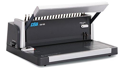 - DSB CB-180 Like Sirclebind CB-1800 Plastic Comb Binding Machine & Punch 11-inch