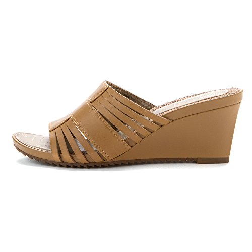 Natural Easy Natural Women's 8 Lista M sandals Leather Spirit qq7tHA