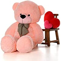OS Retail Spongy 4 Feet Large Cute Teddy Bear for Kids & Girls Special Gift for Birthday/Anniversary/Valentine 121 cm (Pink)