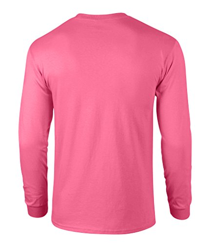 Men 39 S High Visibility Safety Long Sleeve T Shirt 100