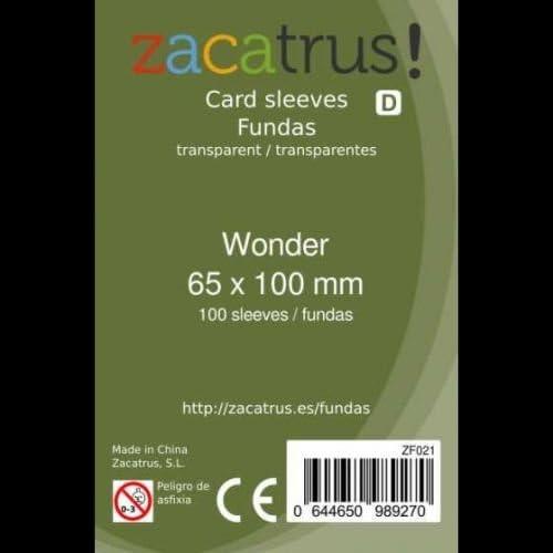 FUNDAS ZACATRUS WONDER 65 MM X 100 MM (100): Amazon.es: Juguetes y juegos