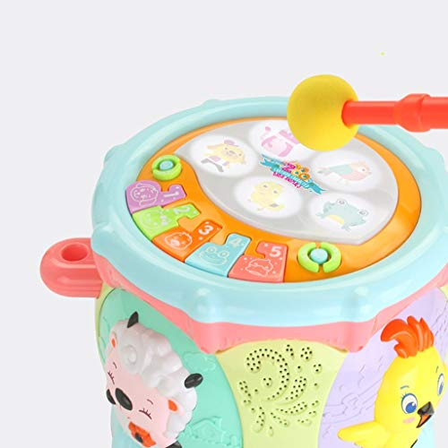 LIPENG-TOY 0-3-6 Years Old Children Learn to Sing Can Accompaniment Hand Drums Baby Infant Enlightenment Baby Toys Boys and Girls (Color : Multi-Colored) by LIPENG-TOY (Image #6)