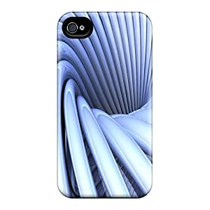 Shock-dirt Proof Swirl Case Cover For Iphone 4/4s