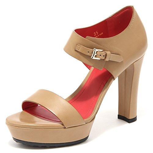 donna scarpa TOD'S Beige sandalo FIBBIETTA 55640 SELL shoes women q4IXzv7x