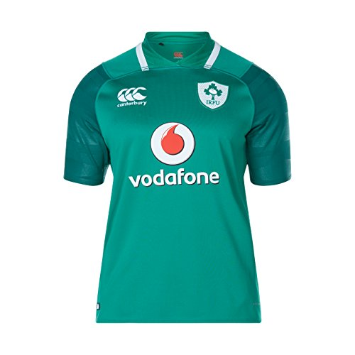 Rugby Home Jersey (CCC Ireland Vapodri+ Home Pro Jersey 17/18 (Large))