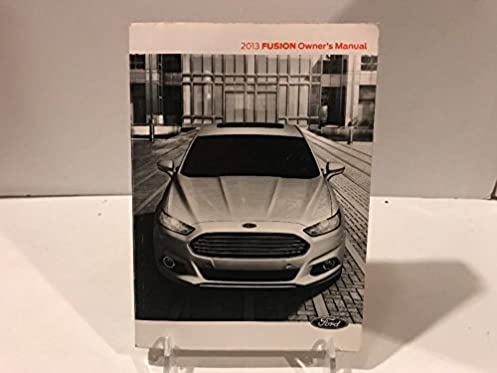 2013 ford fusion owner s manual guide book ford automotive rh amazon com ford fusion 2014 owner s manual ford fusion se 2013 owners manual