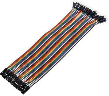 10x 20cm female female jumper wire Kabel Steckbrücke für Arduino Raspberry pi