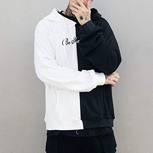 À Imprime Pull Noir Cher Visage Happiness Souriant Capuche Mode Smile Pas Face Sweat shirt Le Longues Sweat La Manches Conqueror D'adolescent Imprimé Homme BS7xIf6n