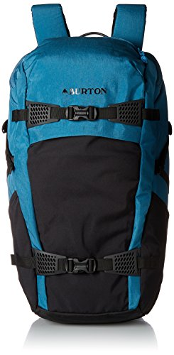 (Burton Multi-Season Day Hiker 31L Hiking/Backcountry Backpack, Saxony Blue)