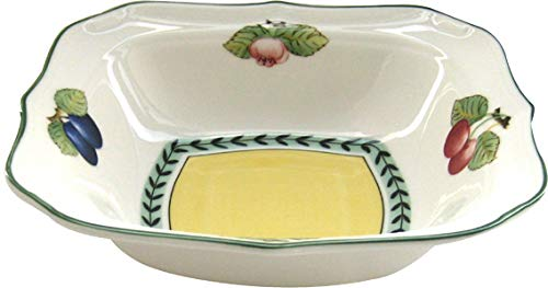 Villeroy & Boch French Garden Fleurence 8-1/4-Inch Square Salad Bowl