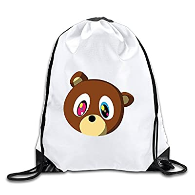 Good Gift - Funny Canye Cute Bear Sport Bag Gym Bag For Men & Women Sackpack