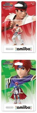 Pack Amiibo - amiibo Smash Ryu y amiibo Smash Roy: Amazon.es: Videojuegos