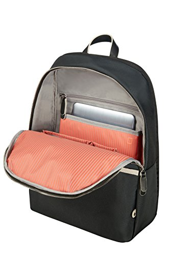 SAMSONITE Nefti - Rucksack für 14.1 Laptop, 41 cm, 15 liters, Schwarz/sand Schwarz/Sand