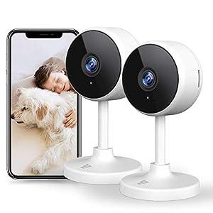 [New2021] WiFi Camera Littlelf Security Camera Indoor Camera,1080P Pet Camera with 2-Way Audio, Human Detection, Night…
