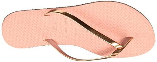 4135102 Sandalias para Havaianas Mujer Deportivas Rosa Claro B8U77g4