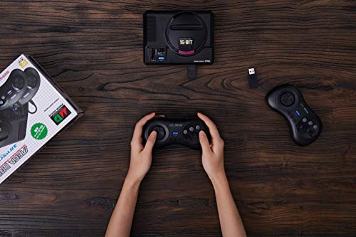 8Bitdo M30 2.4G Wireless Gamepad for Sega Genesis Mini and Mega Drive Mini - Sega Genesis