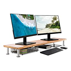 Large Dual Monitor Stand