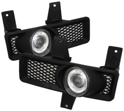 Spyder Auto FL-P-FF15097-HL Ford F150/F150 Heritage/F250 LD/Expedition Clear Halogen Projector Fog Light