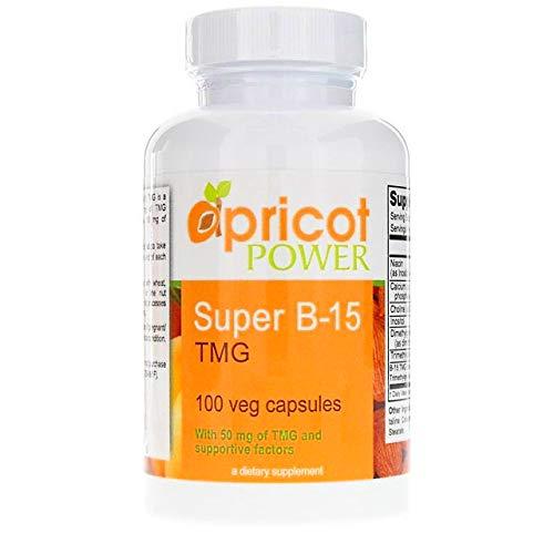 Super B-15 TMG 100 Veg caps 2