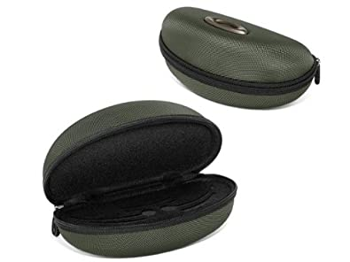 oakley half jacket golf array sunglasses  oakley half jacket/flak jacket soft vault sunglasses case green 07 347 green one