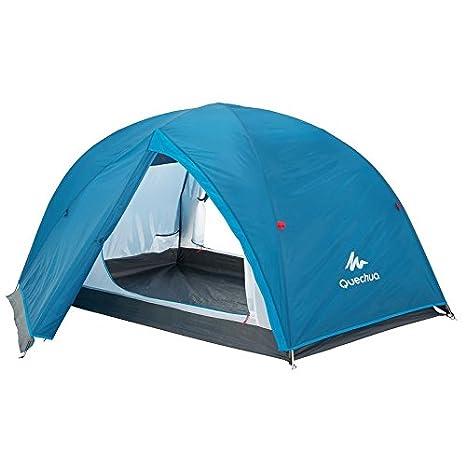 DECATHLON Arpenaz Camping tienda de campaña familiar, hombre, ARPENAZ 3 FRESH & BLACK: Amazon.es: Deportes y aire libre