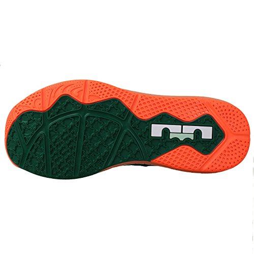 Nike Air Max Lebron Xi 11 Lave Mænd Basketball Sneakers Ny Mystiker Grøn Hvid Medium Mynte Hyper Kobolt 313 3m4CoHk