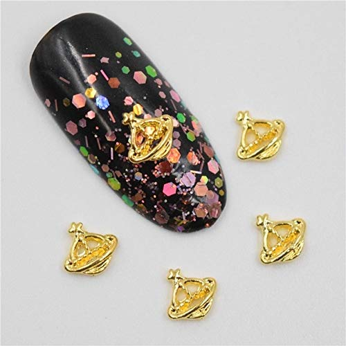 Alloy Nail Charms, Nail Art Rhinestones, 50PCS 3D Metal Alloy Nail Decoration/Charms/Studs,Nails 3D Jewelry Nail Art Accessories - 3D Nail Art - Blue