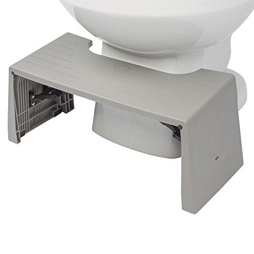 Squatty Potty Porta-Squatty Foldable Toilet Stool, 1.8 Pound