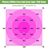 Phlizon CREE Cob Series 2000W LED Plant Grow