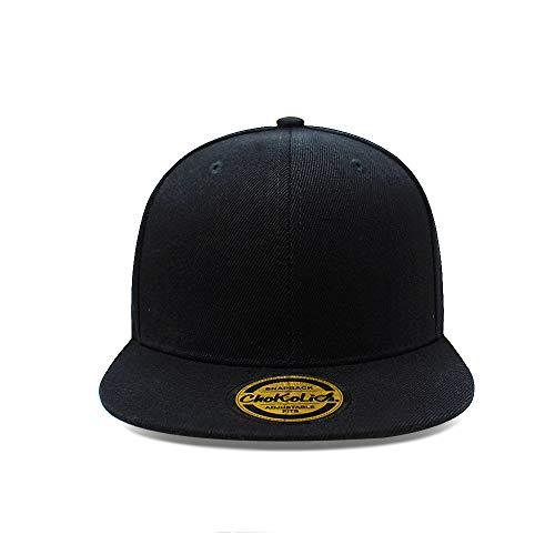 c647e40244e Flat Visor Snapback Hat Blank Cap Baseball Cap - 8 Colors - Import It All