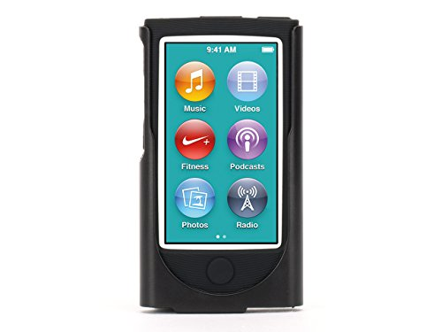 Griffin Black 2-in-1 Belt Clip case for iPod nano (7th gen.) - Cushioned and protected
