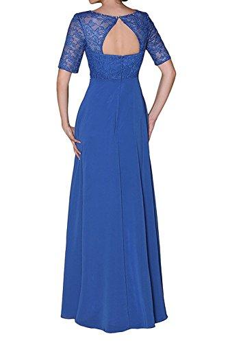 Partykleider Damen Kleider Abendkleider Elegant Langes Braut Traube Chiffon Festlichkleider Brautmutterkleider La mia Formal gP8qvv