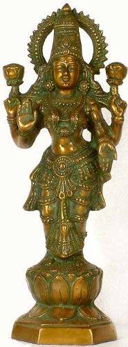 Standing Lakshmi – Brass Statue