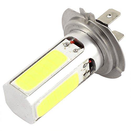 eDealMax H7 blanc COB Ampoules voiture Brouillard jour Lampe