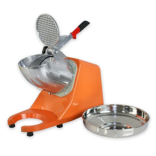 Zenchef Upgraded 300W Electric Ice Shaver Ice Shaved Machine Snow Cone Maker 143 lbs (Orange) by ZenChef (Image #4)