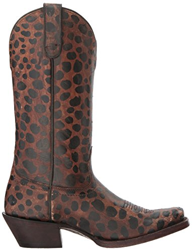 Ariat Womens Western Wildcat Workboot, Natural Distressed Leopard Patent, 5.5 B Us Natural Distressed Leopard Patent