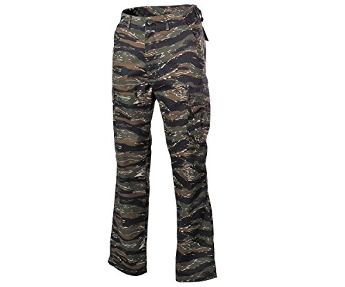 Coka-Tex - Pantalon - Cargo - Uni - Homme multicolore Tiger Camo