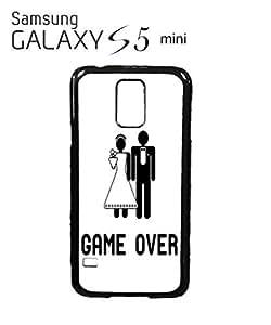 Game Over Wedding Joke Mobile Cell Phone Case Samsung Galaxy S5 Mini Black