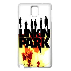 Linkin Park Black and White Logo case For Samsung Galaxy NOTE4 Case Cover TPUKO-Q806025