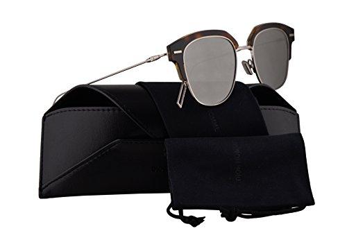 Dior Sunglasses Grey Lens - Christian Dior Homme DiorTensity Sunglasses Crystal Havana w/Grey Silver Lens 48mm KRZ0T Dior Tensity Dior Tensity/S DiorTensity/S